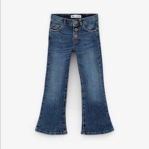 Zara Girls Flare Jeans